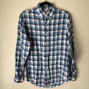 Brooks Brothers Linen Button Down Shirt